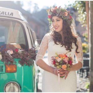Couronne, bouquet et décoration